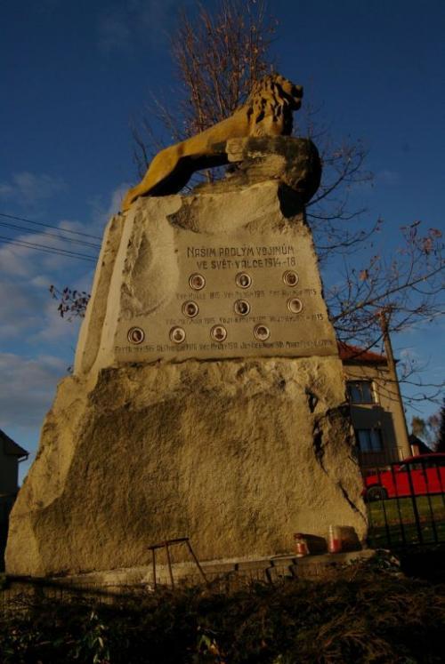 Střížovice pomník