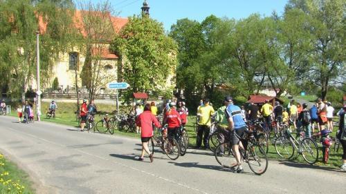 Slavnostní otevření stezky Blovickem Pěšky i na kole - 2009