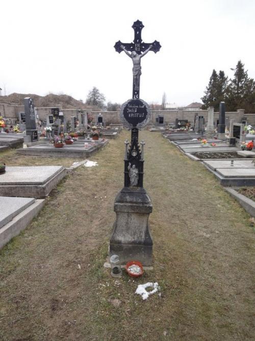 Letiny - hřbitov, původní stav