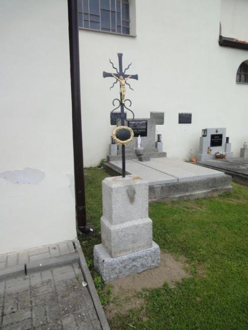 Letiny - hřbitov, poobnově