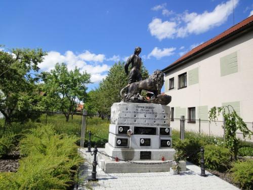 Seč - pomník, původní stav