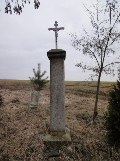 Střížovice - boží muka vpolích, předobnovou